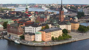 Stockholm stad Royaltyfria Foton