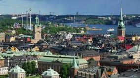 Stockholm stad stock video