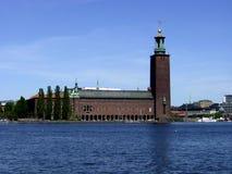 Stockholm stadshus Royaltyfri Fotografi
