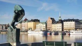 Stockholm stadsotta lager videofilmer