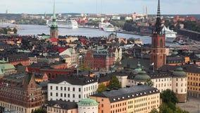 Stockholm-Stadt Stockbilder