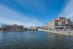 Stockholm-Stadtbild Lizenzfreies Stockfoto