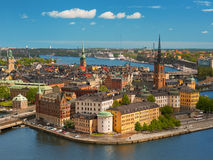 stockholm stary miasteczko Obrazy Royalty Free