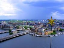 Stockholm-Stern Stockfotos