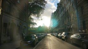 Stockholm-Straße Stockbild