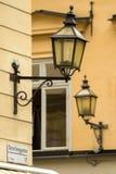 Stockholm, straatfragment royalty-vrije stock afbeelding