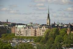 Stockholm - strandvägen Royalty Free Stock Images