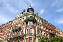 Stockholm - Strandvagen Royalty Free Stock Images