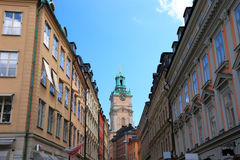 Stockholm street. Royalty Free Stock Photo