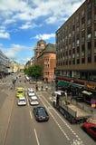 Stockholm street stock image