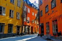 Stockholm street Stock Images