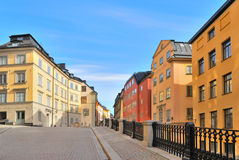 Stockholm. Streets Of Old Town Stock Images