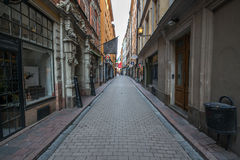 Stockholm streets Royalty Free Stock Images