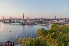 Stockholm Suède Photos libres de droits