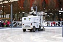 Stockholm, Suède - amusement pendant l'hiver Photographie stock libre de droits