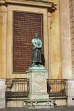 STOCKHOLM, SUÈDE - 19 AOÛT 2016 : Statue de l'auteur Olaus photo stock