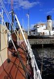 Stockholm, Suède - Museifartygen - musée marin montrant Swe Photos stock
