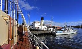 Stockholm, Suède - Museifartygen - musée marin montrant Swe Images libres de droits