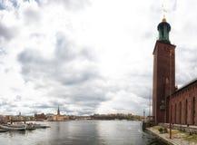 Stockholm, Suède Paysage urbain Images libres de droits