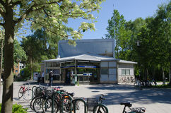 Stockholm suburban metro station Royalty Free Stock Images