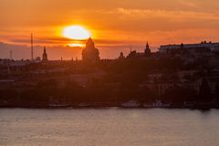 Stockholm Sunset Stock Photos
