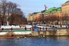 Stockholm Sverige. royaltyfri fotografi