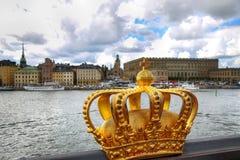 Stockholm Sverige Royaltyfri Fotografi