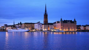 Stockholm Sverige, Europa stock video