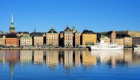 Stockholm Sverige, Europa Royaltyfri Bild