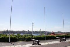 Stockholm Sverige Grona Lund Royaltyfri Foto