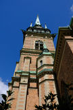 Stockholm Sverige, kyrkan Tyska Arkivbilder