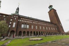 Stockholm Sverige, 21 Maj, 2016 Okänt folk som besöker stadsmummel Arkivfoton