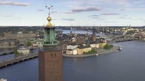 Stockholm Sverige otta arkivfilmer