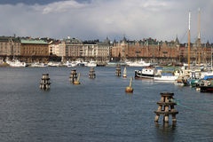 Stockholm - Sweden. Stockholm, capital of Sweden with beautiful old buildings and architecture Stock Photography