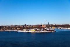 stockholm sweden royaltyfri fotografi
