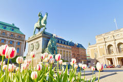 Stockholm,Sweden Royalty Free Stock Photo