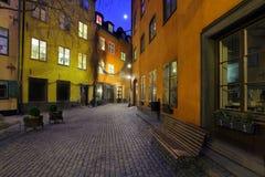 Stockholm, Sweden. The Old town, Stockholm, Sweden royalty free stock image
