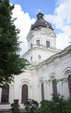 Stockholm, Sweden - August 18, 2014 - Church of Adolf Frederick in Stockholm, French philosopher Rene Descartes was first buried o Royalty Free Stock Photo