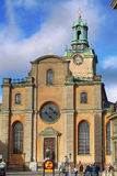 STOCKHOLM, SWEDEN - AUGUST 19, 2016: Church of St. Nicholas Sto Royalty Free Stock Photos