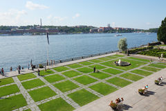 stockholm town Hall Square Royalty Free Stock Photography