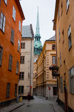 Stockholm, Sweden. Building in the old town Stock Images