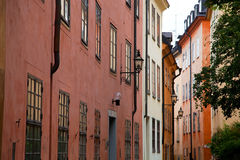 Stockholm, Sweden. Building in the old town Royalty Free Stock Photo