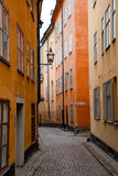 Stockholm, Sweden. Building in the old town Royalty Free Stock Photos