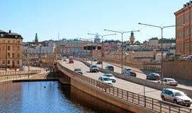 Stockholm. Sweden. Central Bridge Royalty Free Stock Photo