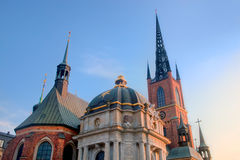Stockholm, Sweden. The church Riddarholmen Royalty Free Stock Photo