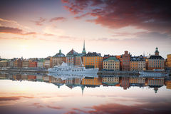 Stockholm, Sweden cityscape Stock Image