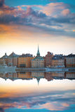 Stockholm, Sweden cityscape Stock Photography