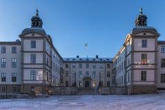 Stockholm, Sweden - December, 2014. Stockholm city at winter time. Royalty Free Stock Image
