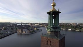 Stockholm Sweden early morning stock video footage