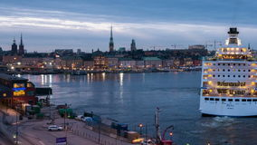 Stockholm, Sweden, Europe stock video